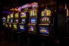 Slot machines - stock photo