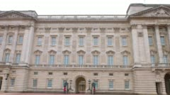 Buckingham Palace, City of Westminster Stock Footage
