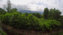 Panorama Of The Mountainous Terrain Of Turkey Stock Footage