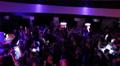 Light effects, people dancing silhouettes, nightclub atmosphere HD Footage