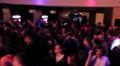 Professional DJ performing at nightclub, public dancing to music HD Footage