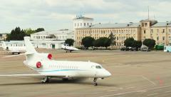 Airport Zhulyany City Kiev 4 Stock Footage