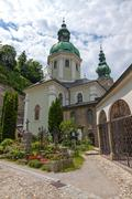 Stock Photo of St. Peter's Cemetery, Salzburg, Austria