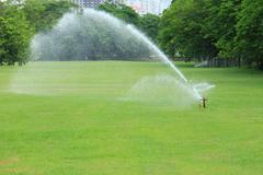 Water sprinkler - stock photo