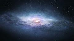 Galactic voyage Stock Footage