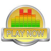 Play Button Stock Photos