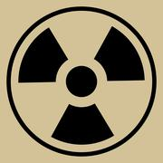 Radiation Sign Stock Illustration