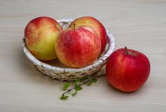 Few apples Stock Photos