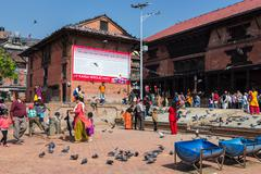 KATHMANDU, NEPAL-MARCH 28: Pashupatinath Temple on March 28, 2015 in Kathmand - stock photo