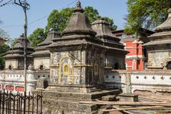 Pashupatinath Temple - stock photo