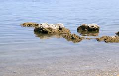 Adriatic Sea close up Stock Photos