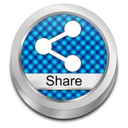 Share Button Stock Photos