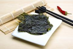 Nori sheets - stock photo