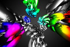 Art abstraction light color - stock illustration