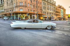 Luxury Classic Cadillac Stock Photos