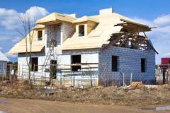 House  construction Kuvituskuvat