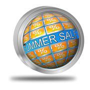 Summer Sale Button Kuvituskuvat