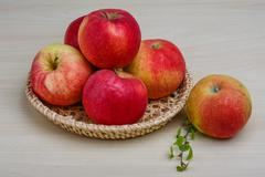 Few apples Stock Photos