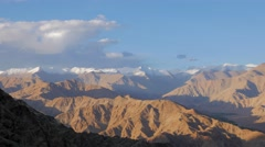 TIMELAPSE Mountains and clouds,Hemis,Ladakh,India Stock Footage