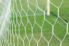 Abstract soccer goal net Stock Photos