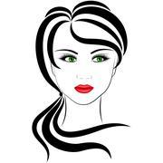 Stock Illustration of fashionable girl