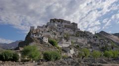 TIMELAPSE Monastarey,Ticksey,Ladakh,India Stock Footage