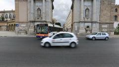 Monument Porta Felice Stock Footage