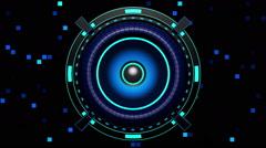 Audio Speaker VJ Loop 03 Stock Footage