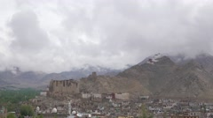 TIMELAPSE Heavy clouds,Leh,Ladakh,India Stock Footage