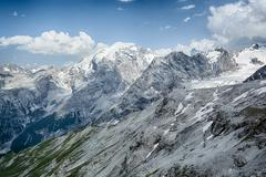 The Alps - Mountaintops by Summer Stock Photos