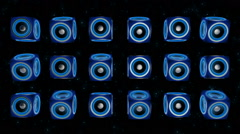 Speaker VJ Loops 24 - stock footage