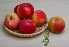 Few apples - stock photo