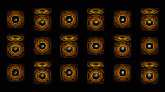Speakers Wall VJ Loop 01 - stock footage