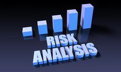 Risk analysis Stock Illustration