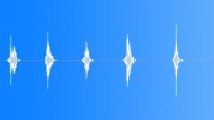 badminton  racket whoosh hit mix - sound effect