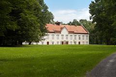 Novi Dvori Jelacicevi Castle in Zapresic Stock Photos