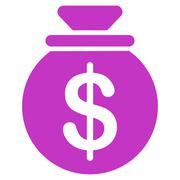 Stock Illustration of Capital icon from Business Bicolor Set