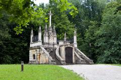 Mausoleum and resting place of Croatian historic figure Ban Jela Stock Photos
