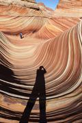 The Wave North Coyote Buttes Stock Photos