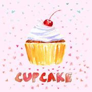 Stock Illustration of Cupcake