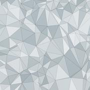 Abstract vector polygon background Stock Illustration