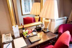 Stock Photo of Modern hotel room interior