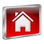Home Button Stock Photos