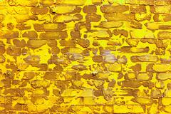 pattern yellow color of modern style design decorative uneven cr - stock photo