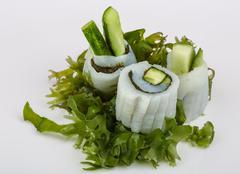 Squid sashimi Stock Photos