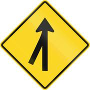 Stock Illustration of Intersection Ahead In Canada