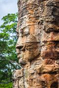 Stock Photo of Stone murals and sculptures in Angkor wat, Cambodia