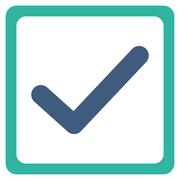 Checkbox icon - stock illustration