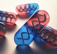 Gene Therapy - stock illustration