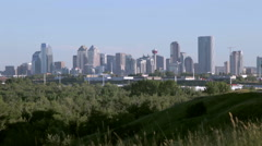 Calgary Summer Scenic - stock footage